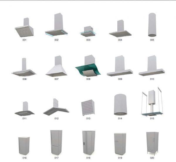 厨房3d模型大合集下载 厨房模型  3d厨具模型   厨