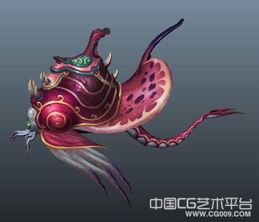 蜗牛坐骑模型下载  maya蜗牛模型