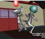 猫和老鼠绑定模型 带动作poss  适合做动画