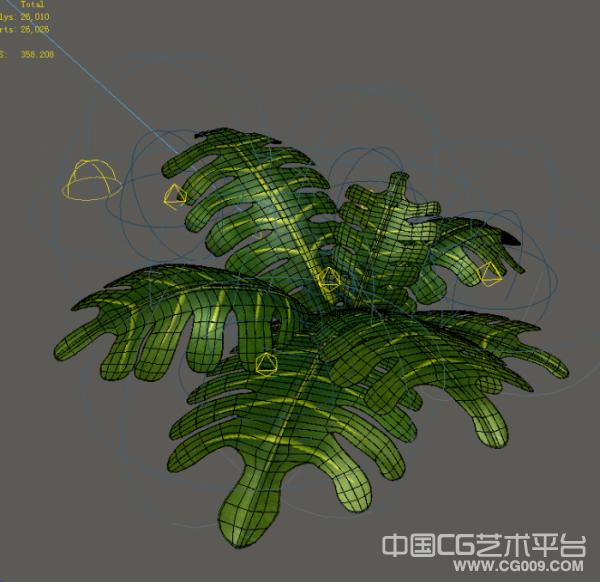 几种Q版花草模型下载 3d小植物模型下载