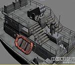 一个游戏里面的游艇模型  3D游艇模型下载