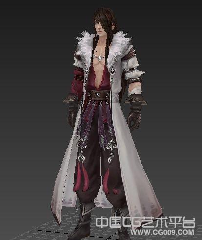 【剑三】莫雨角色模型下载