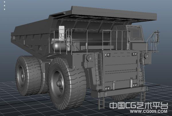 超大型运输车3d模型下载