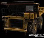 美国大型运输车3d模型下载