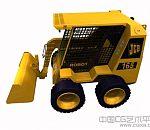推土机3d模型下载,压路机模型下载 带贴图