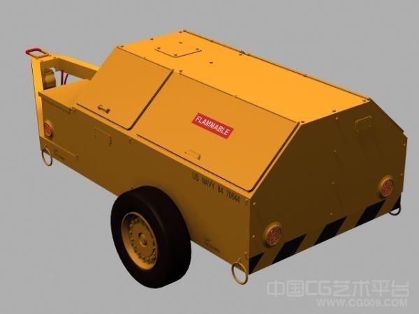 拖车车厢3d模型下载 有贴图