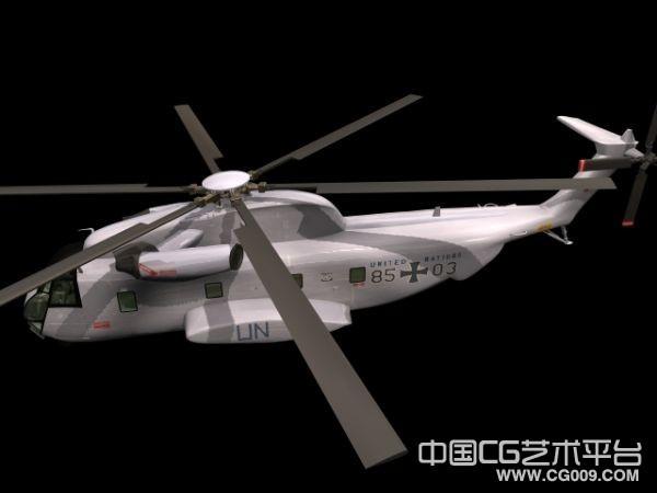 美军黑鹰武装直升机3d模型下载