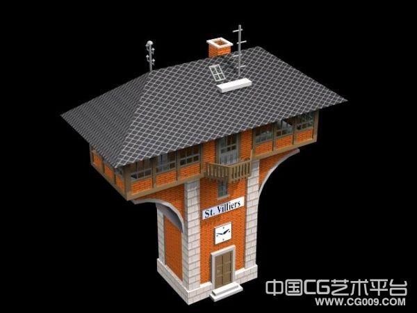 收集了一些经典的欧式建筑模型,希望大家喜欢