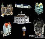 欧式建筑模型收集第二波分享下载