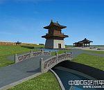 大明宫3d建筑项目文件下载 有完整的宫殿全景