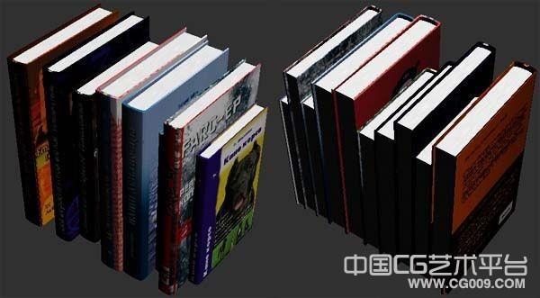 book书本模型书模型图书3dsmax模型下载