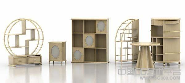 3d木质家具模型下载