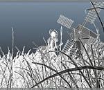 唐吉坷德maya卡通人物角色模型下载 带完整贴图