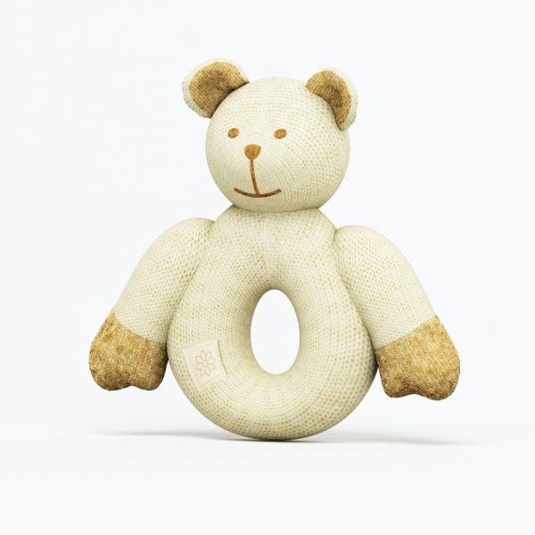 白绳白熊3d玩具模型下载