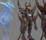 Aion 永恒之塔怪物大集合3D模型下载