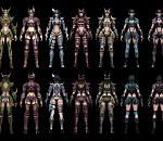 《奇迹世界》26个人物角色模型+漂亮装备模型合