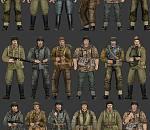 二战军人游戏角色模型下载