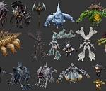 龙之谷96个怪物模型合集下载