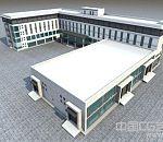办公楼,医院大楼,学校教学楼,3dmax建筑模型