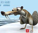 "ICE AGE SCRAT BY ""AWDA"" 冰河世纪模型"