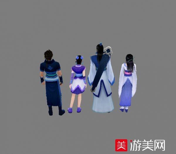 中国古典游戏写实模型(仙剑奇侠4)