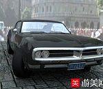 老式黑色轿车maya写实模型下载