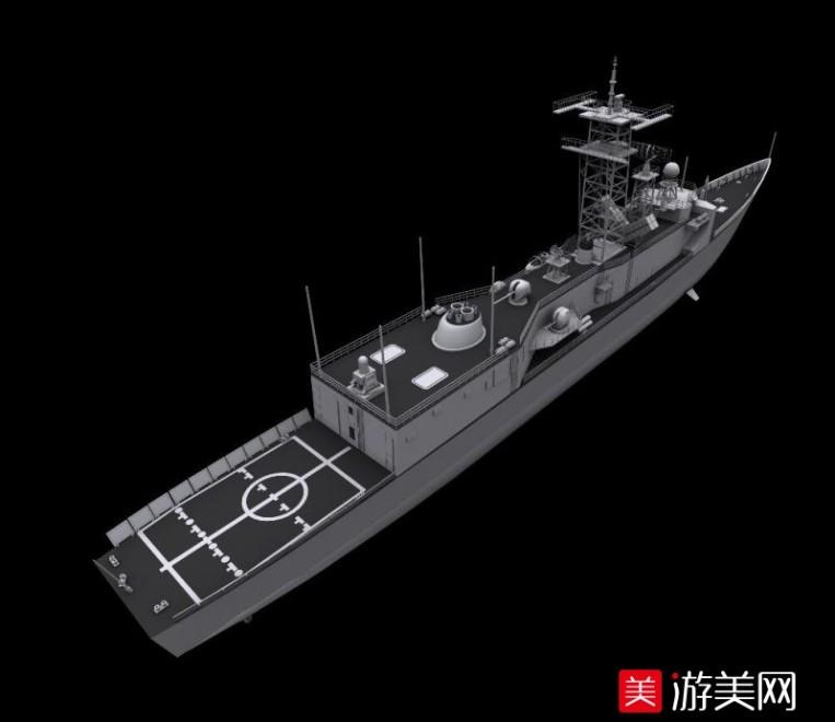 988级军舰模型合集   中国988号大型军舰模型下载