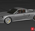 保时捷Carrera GT超跑模型