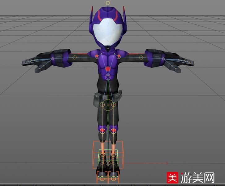 超能陆战队 男主角阿宏(Hiro Hamada)C4D模型