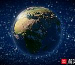 写实地球3d动画模型下载