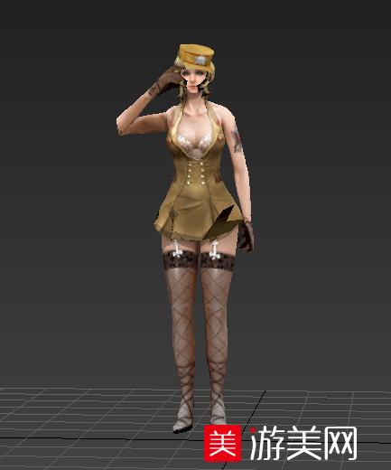 穿越火线灵狐3D模型