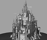 童话故事里面公主跟王子的城堡模型下载