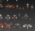 《天堂2》精品游戏角色模型合集下载
