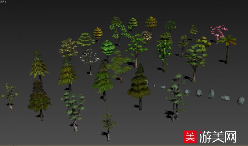 一批不错的树木