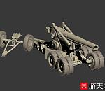 写实高射炮高模
