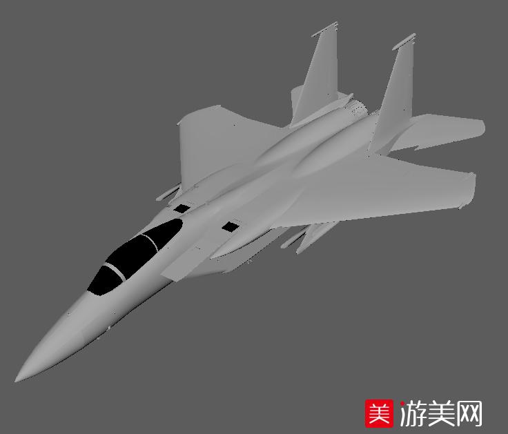 网上最精细的F15战斗机模型下载