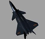 中国四代机歼20战斗机模型下载
