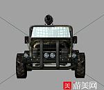 烘培过突击装甲车3D模型下载