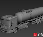 三辆大卡车3dm模型下载