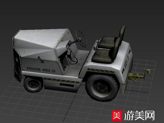 火车站货运拖车模型下载