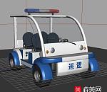 巡警用的巡逻车模型