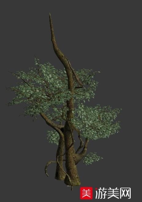 小榕树游戏树木模型下载