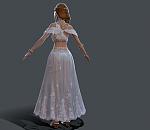 性感舞女游戏模型