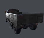运兵卡车模型