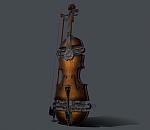 蒸汽朋克风格小提琴