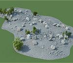 野生自然景观模型包