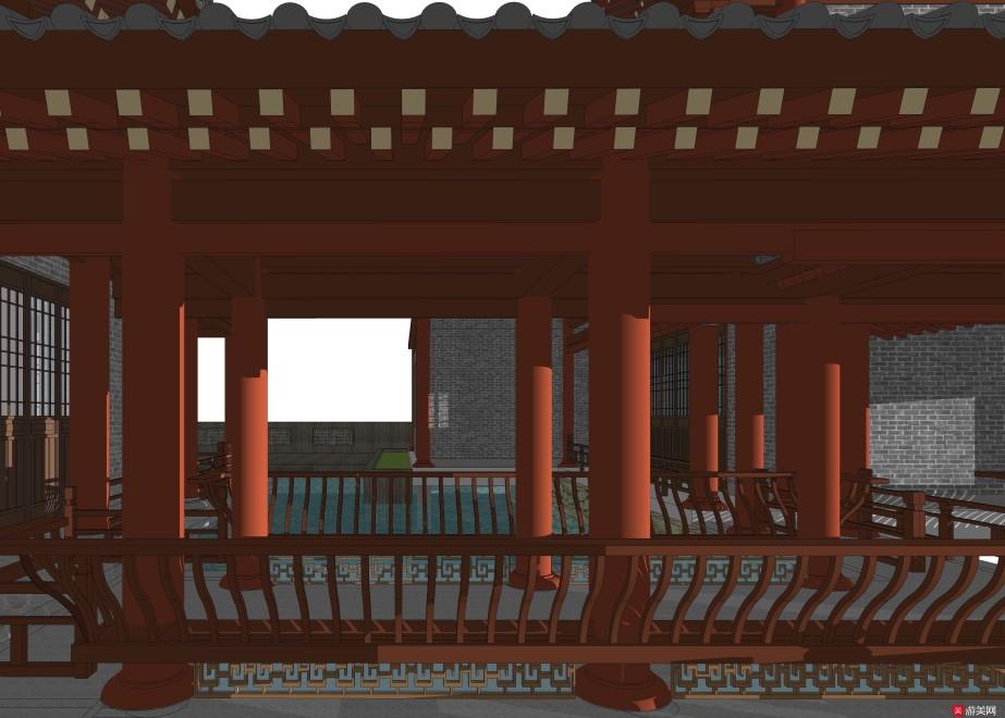 中国古代建筑3D模型